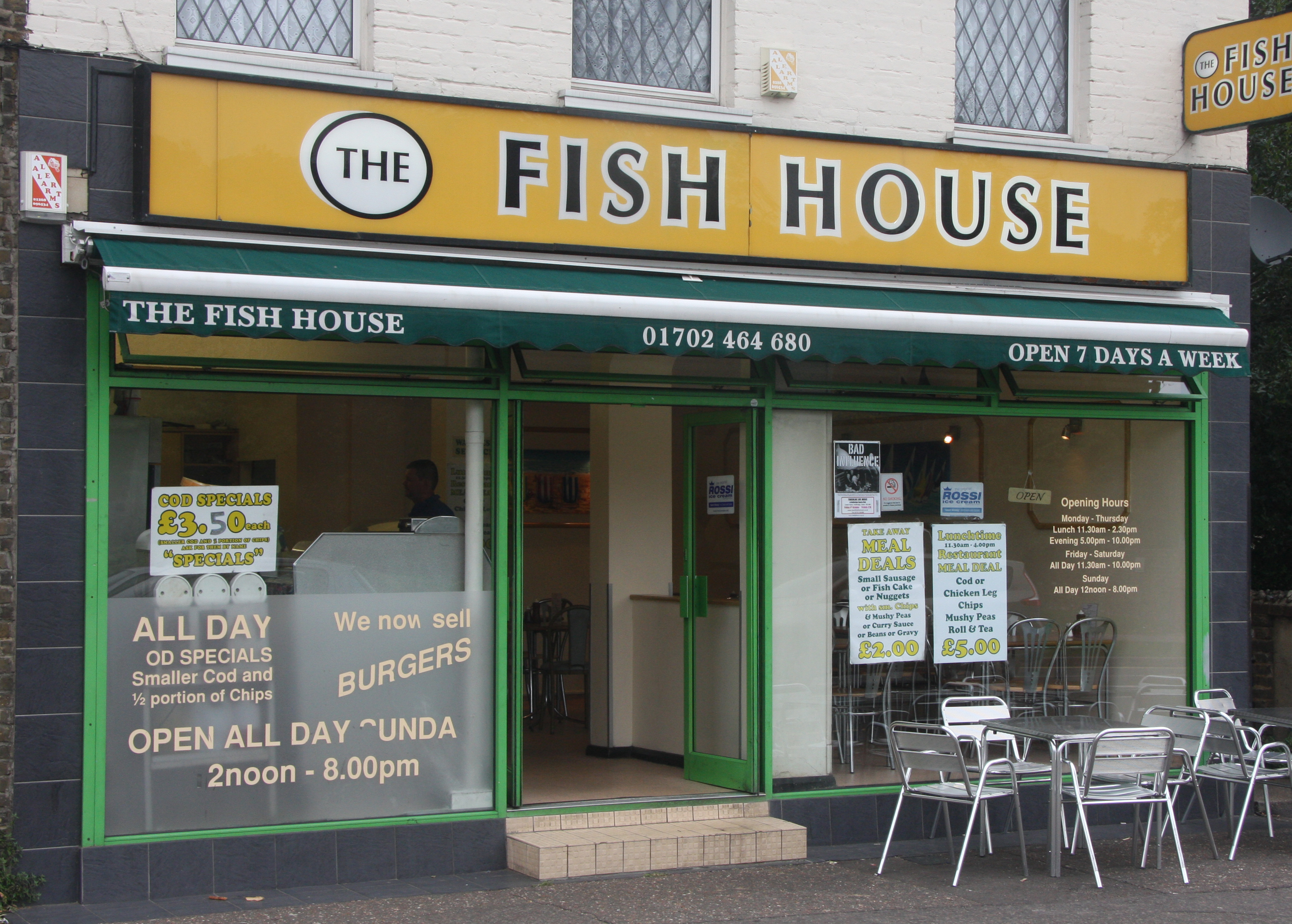 The fish house for The fish house menu